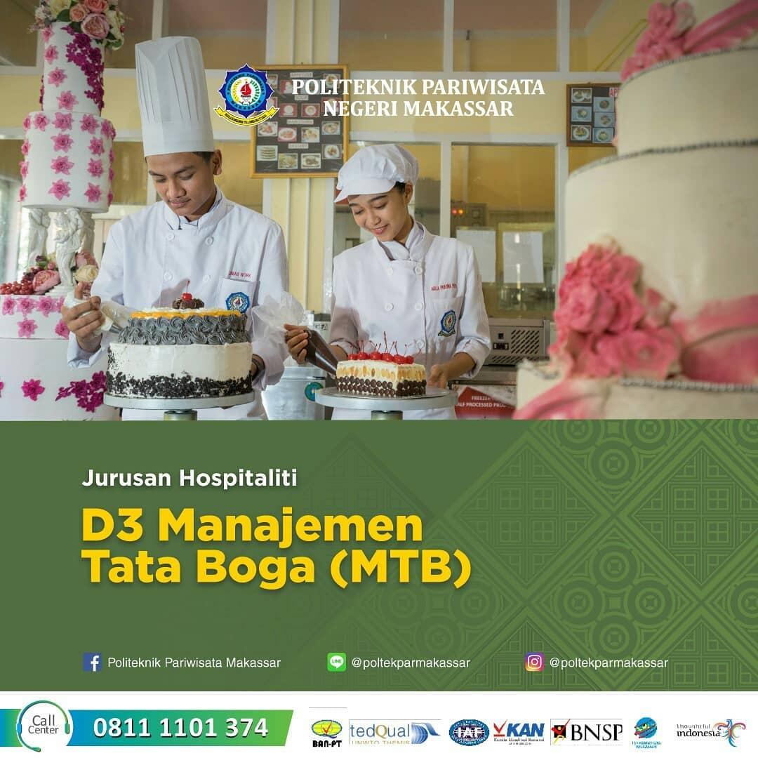 Daftar di Program Studi D3 Manajemen Tata Boga, Bisa melalui Jalur Seleksi Mandiri